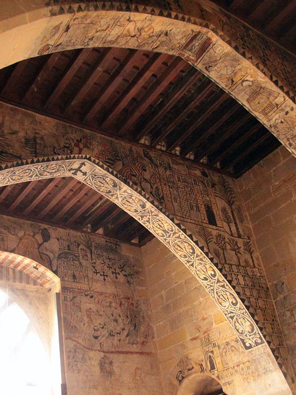 Pinturas Castillo Calatravo de Alcañiz