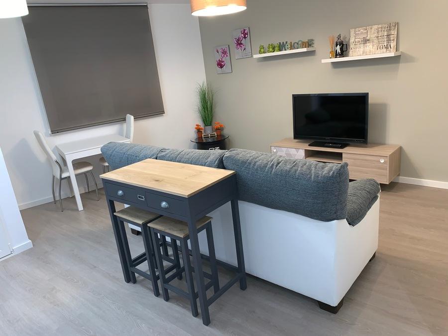 Nuevo espacio: salón – comedor y cocina